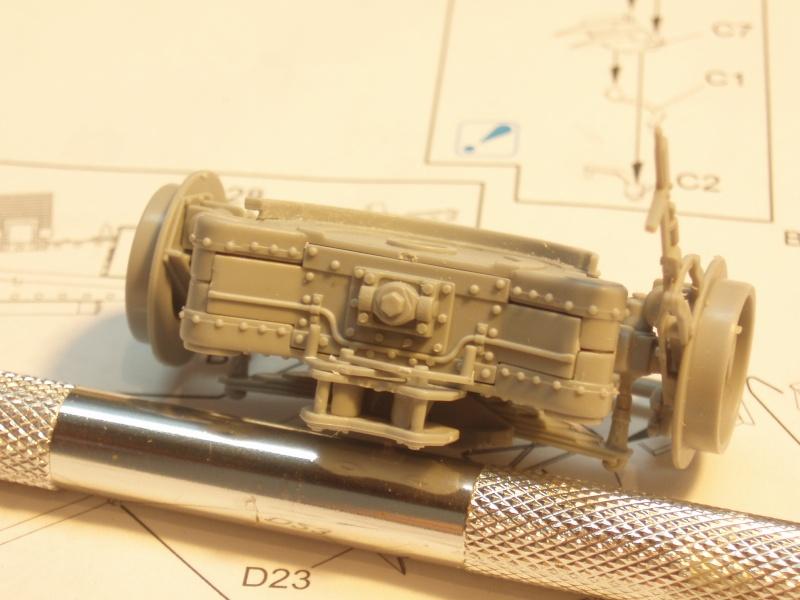 Dragon Sfh 18 howitzer w/Limber TERMINÉ P1220012