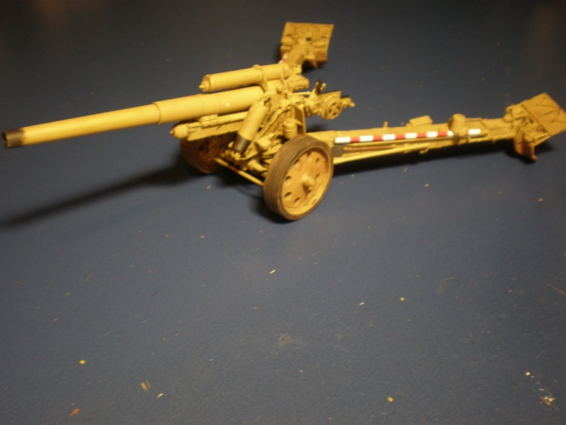Dragon Sfh 18 howitzer w/Limber TERMINÉ P5090610