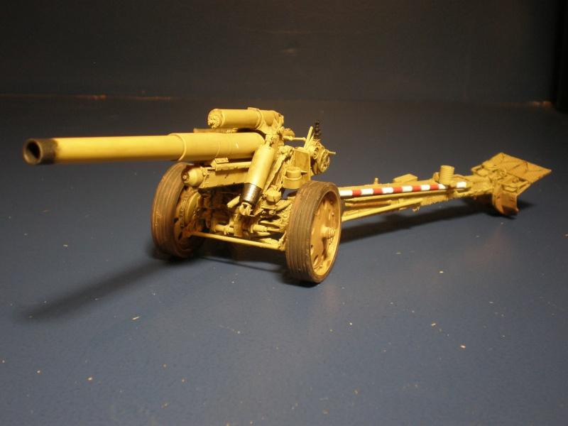 Dragon Sfh 18 howitzer w/Limber TERMINÉ P5090611