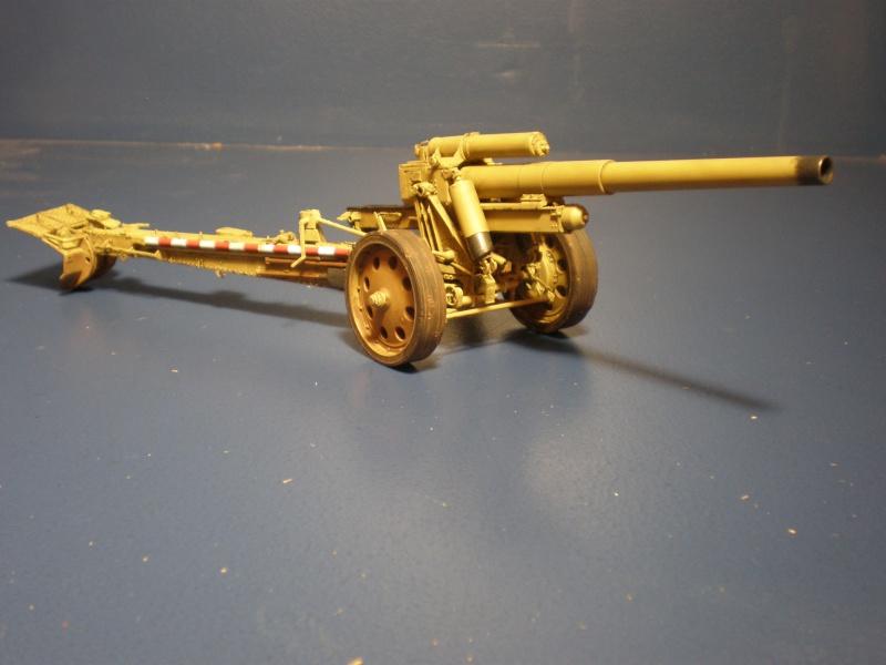 Dragon Sfh 18 howitzer w/Limber TERMINÉ P5090612
