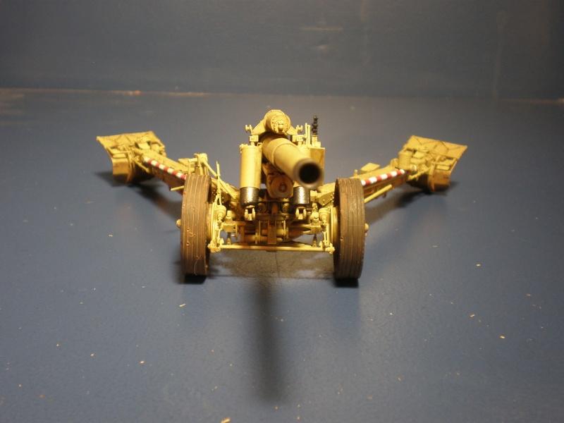 Dragon Sfh 18 howitzer w/Limber TERMINÉ P5090613