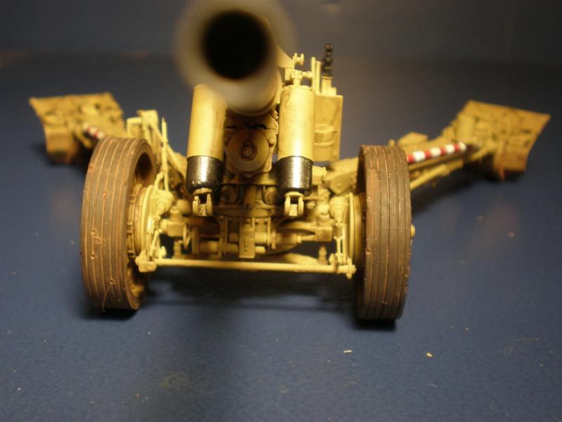 Dragon Sfh 18 howitzer w/Limber TERMINÉ P5090614