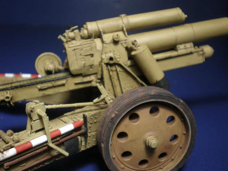 Dragon Sfh 18 howitzer w/Limber TERMINÉ P5090616