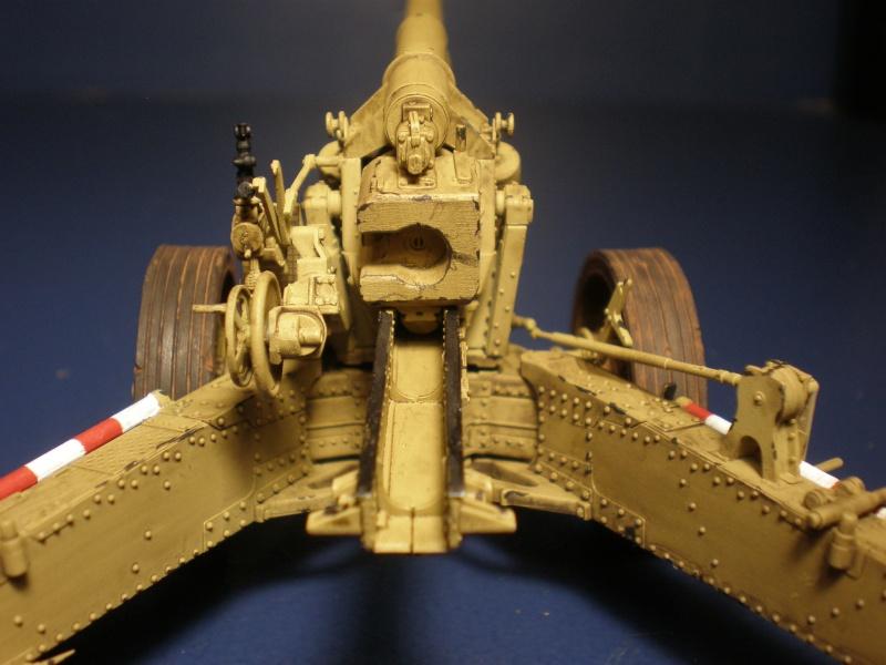 Dragon Sfh 18 howitzer w/Limber TERMINÉ P5090617