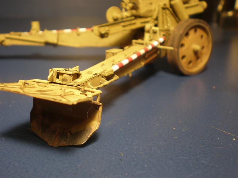 Dragon Sfh 18 howitzer w/Limber TERMINÉ P5090619