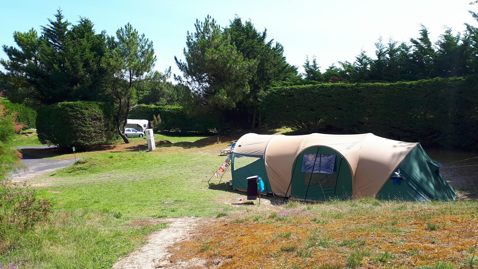 Long séjour sous une tente tunnel karsten  Biscay10