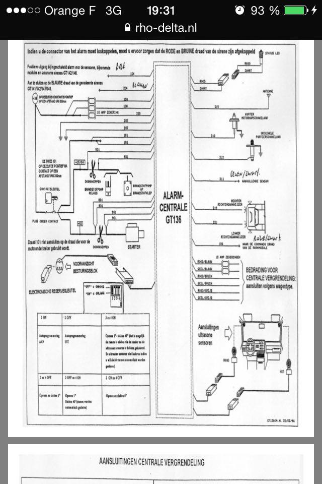 Souçis de démarrage (=> bipper ok, bloc alarme ne répond plus) [RESOLU] Gt13610