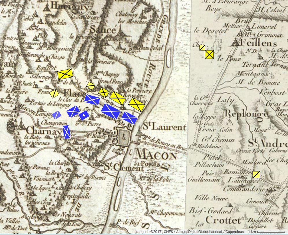 QG du Maréchal AUGEREAU, Duc de Castiglione (Joukov) - Page 20 Macon_11