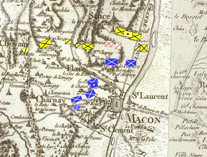 QG du Maréchal AUGEREAU, Duc de Castiglione (Joukov) - Page 21 Macon_18
