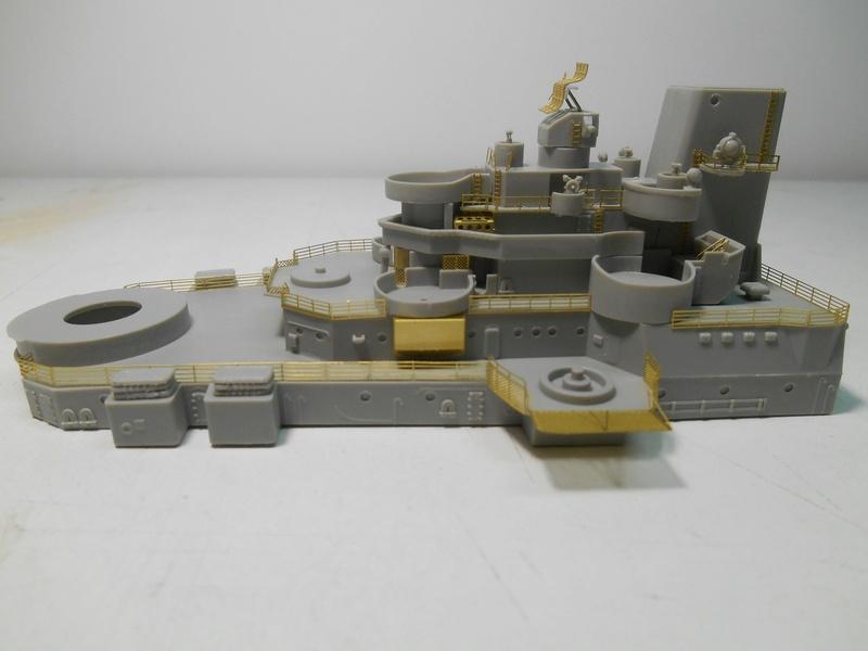 USS Hawaii CB-3 - Hobby Boss - 1/350e  40-haw12