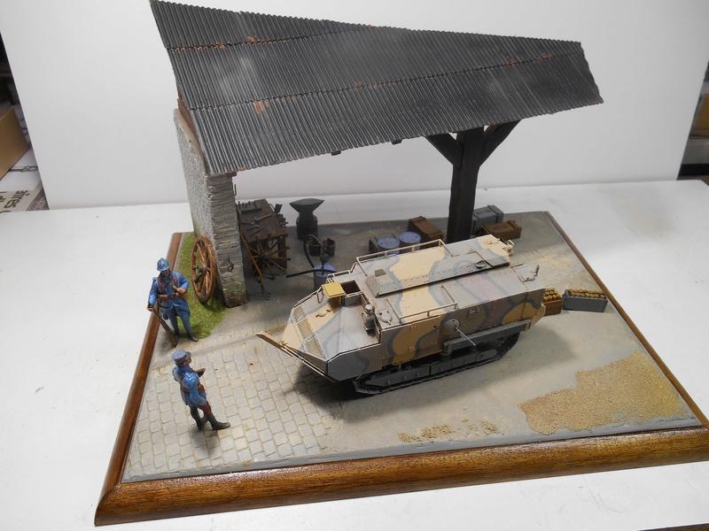 Vite fait en binôme - Figurines Metal Modèles 54mm - Char Schneider CA Hobby Boss 1/35e 40-sch10