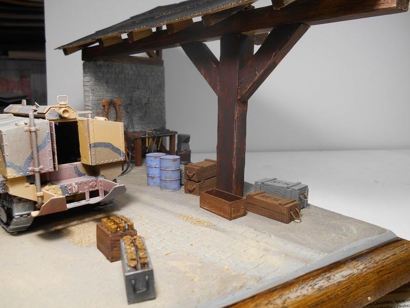 Vite fait en binôme - Figurines Metal Modèles 54mm - Char Schneider CA Hobby Boss 1/35e 40-sch17