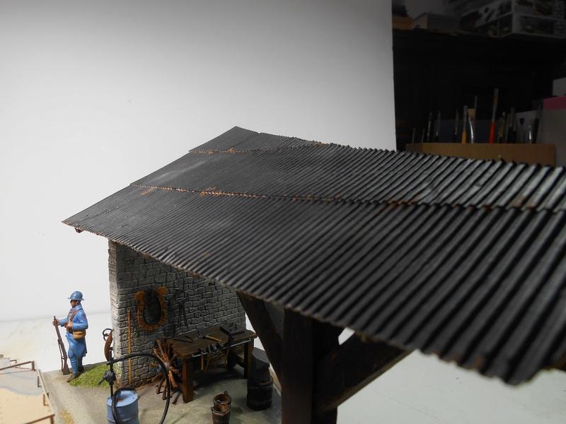 Vite fait en binôme - Figurines Metal Modèles 54mm - Char Schneider CA Hobby Boss 1/35e 40-sch22