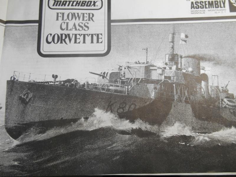 40 ans après... Corvette H.M.S. Bluebell - Class Flower - MATCHBOX - 1/72e - Page 5 Corv-122