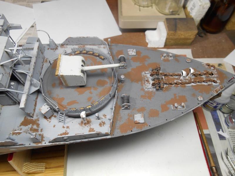 40 ans après... Corvette H.M.S. Bluebell - Class Flower - MATCHBOX - 1/72e - Page 4 Corv-r78