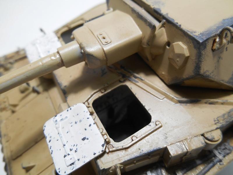 Un moment d'arrêt sur l'inutile... - Panzer IV - Italeri - 1/35e Pziv-r23