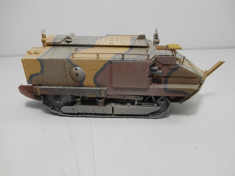 Char Schneider CA-1 - Hobby Boss - 1/35e R40-sc13