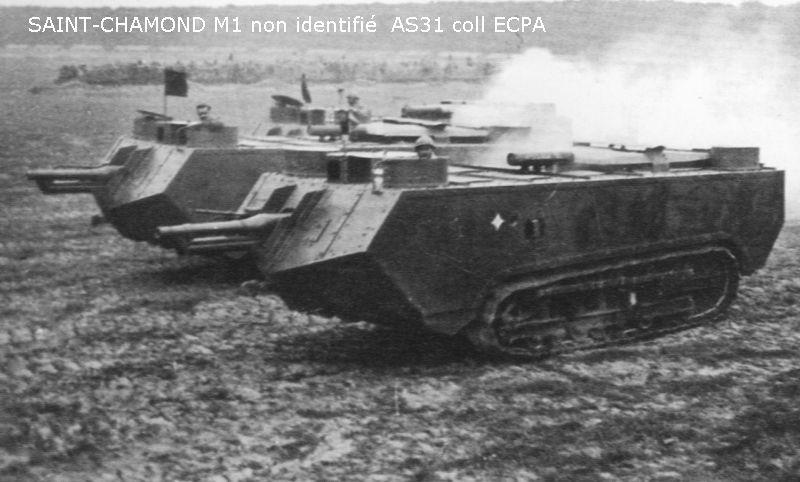 Août 1918 - L'espoir renaît - Saint-Chamond (Takom 1/35e) et figurines HISTOREX 1/32e puis figurines ICM 1/35e Saint-10