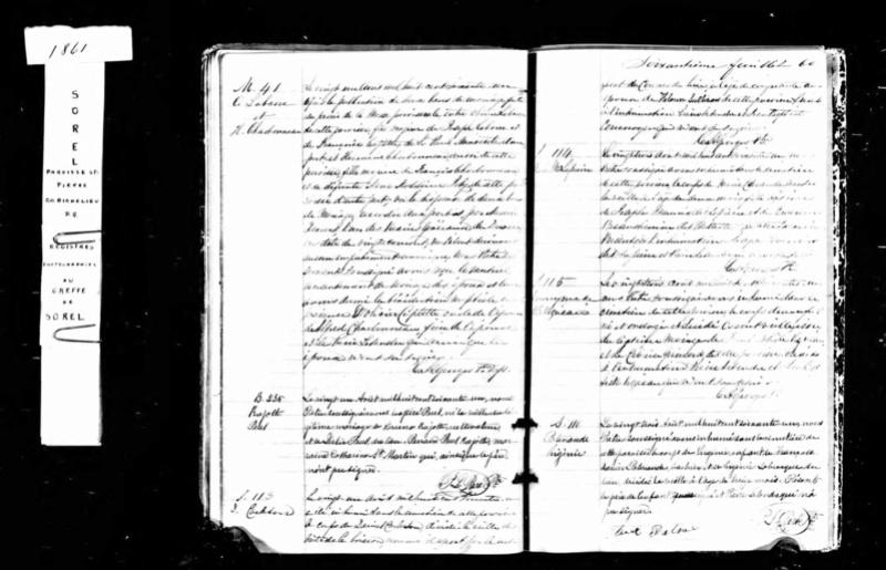 Mariage de William Damase Carleton Martin et Clara Guillot(te) - Page 2 Daniel10