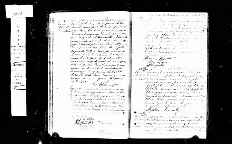 Mariage de William Damase Carleton Martin et Clara Guillot(te) - Page 2 Marie_10