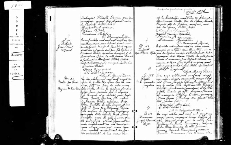 Mariage de William Damase Carleton Martin et Clara Guillot(te) Martin10