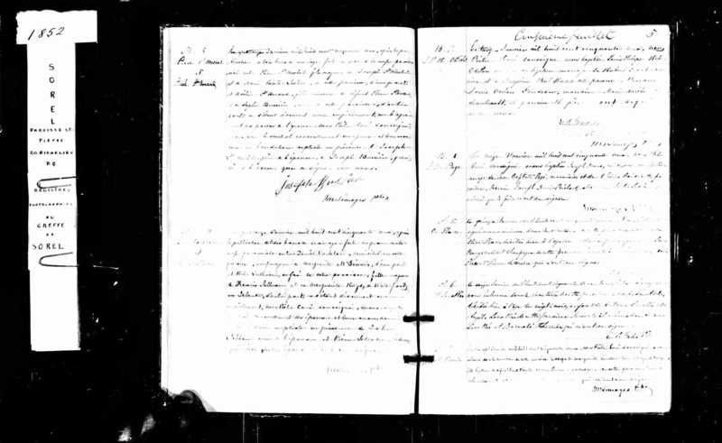 Mariage de William Damase Carleton Martin et Clara Guillot(te) Preuve10
