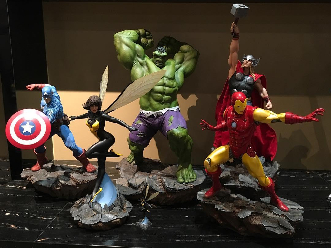 WASP-Avengers assemble statue 22802010
