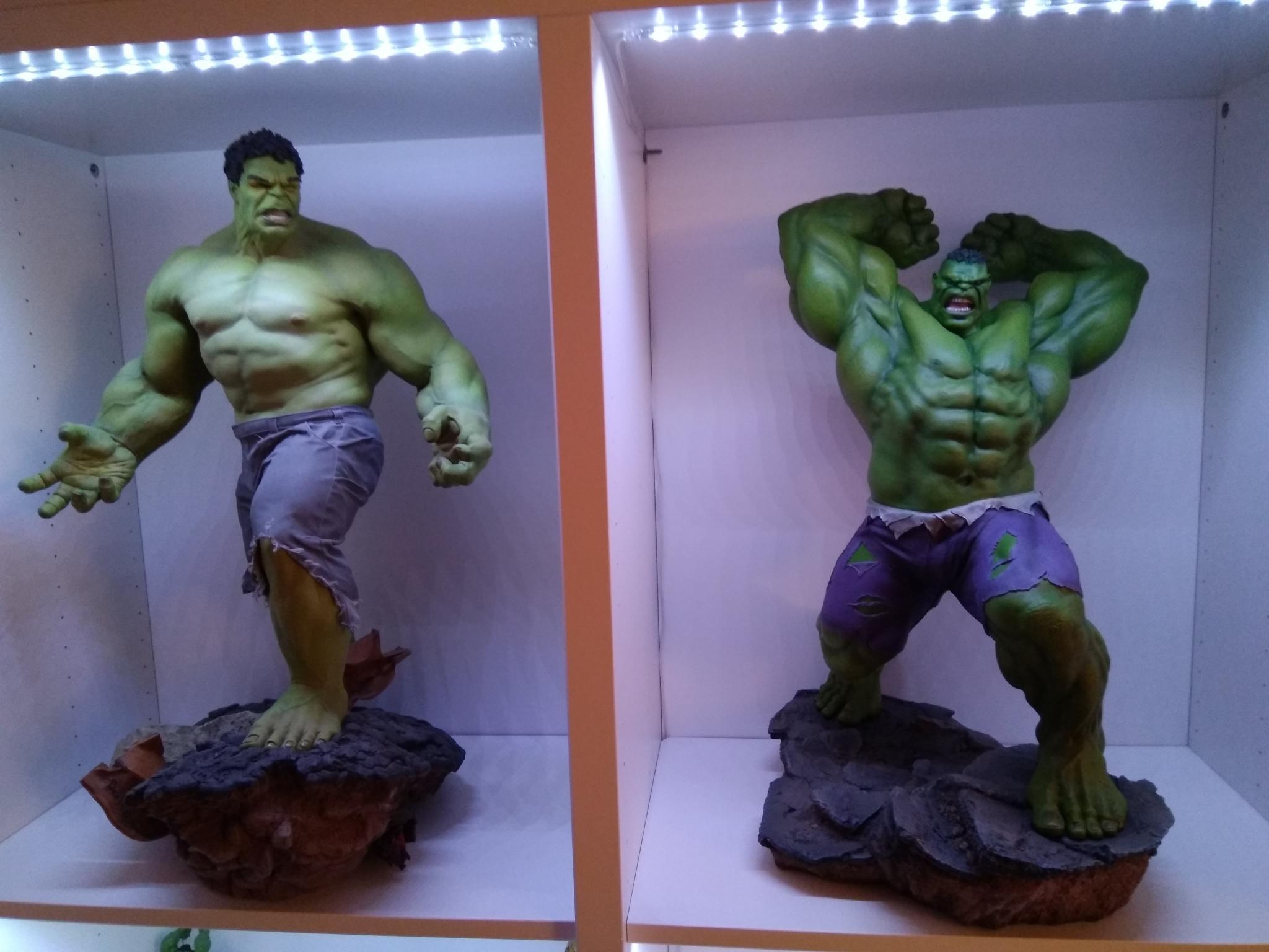 HULK – Avengers Assemble Statue  Hulk10