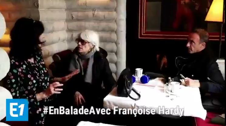 8 avril 2018 - En balade avec Françoise Hardy (Europe 1) Captur38