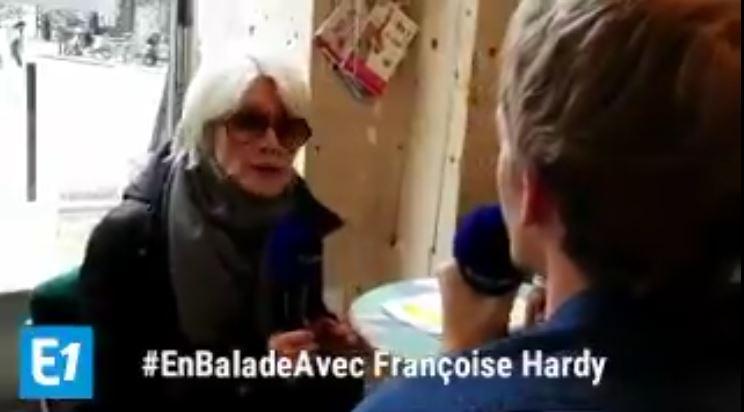 8 avril 2018 - En balade avec Françoise Hardy (Europe 1) Captur39