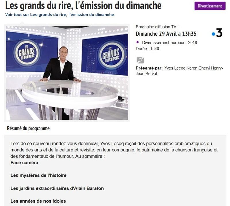 13 mai 2018 - Françoise Hardy dans L'émission du dimanche (France 3) Captur52