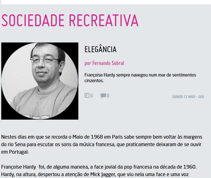 12 mai 2018 -  Sociedad recreativa : Elegância (www.vidas.pt) Captur65