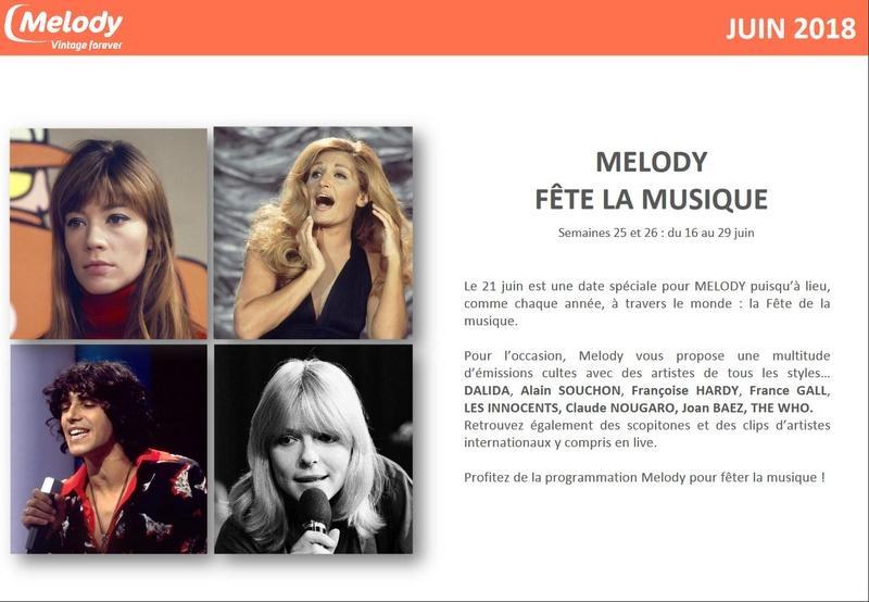 Fête de la musique 2018 sur Melody Captur72