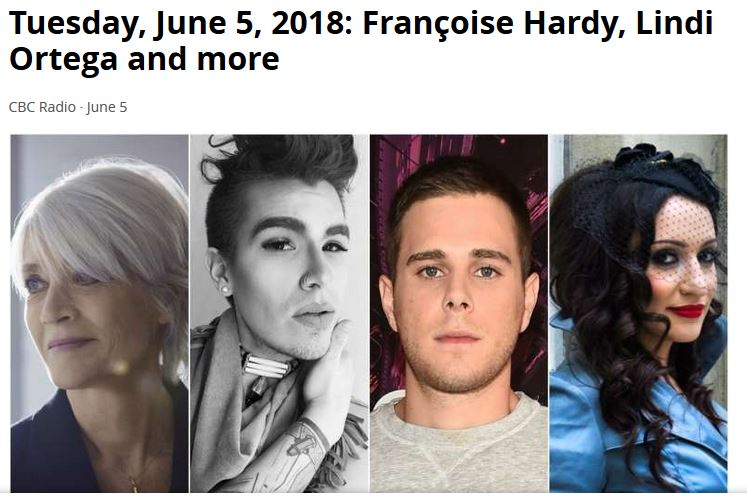 5 juin 2018  Françoise Hardy, Lindi Ortega and more (CBC Radio) Captur77