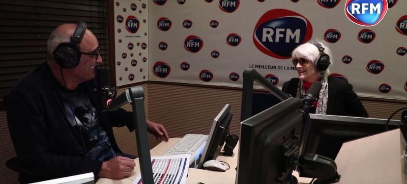 5 mai 2018 - Françoise Hardy invitée de Pascal Nègre sur RFM Decouv10