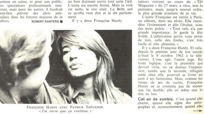 25 mars 1968 - Françoise Hardy vit la tête en bas (L'express) Franco19