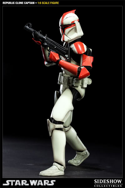 Sideshow - Republic Clone Captain - 12 inch Figure  10001611