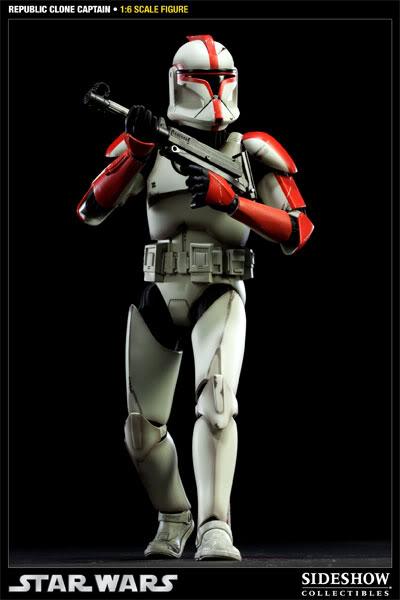 Sideshow - Republic Clone Captain - 12 inch Figure  10001612