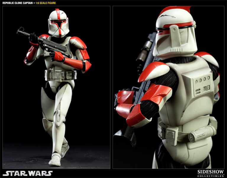 Sideshow - Republic Clone Captain - 12 inch Figure  10001613