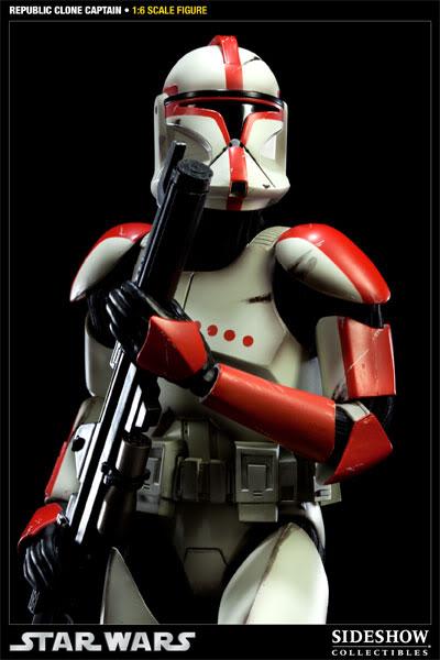 Sideshow - Republic Clone Captain - 12 inch Figure  10001614
