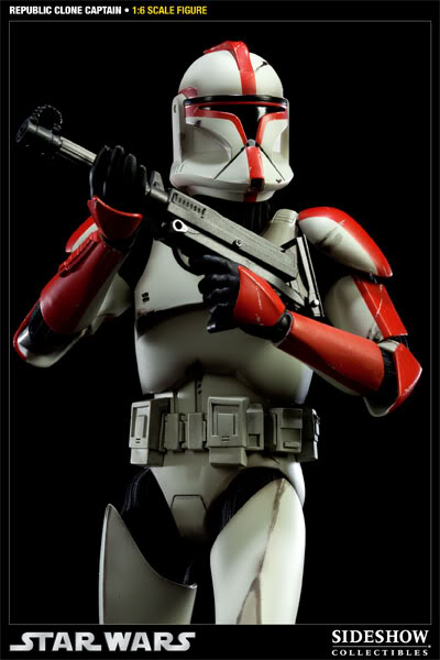 Sideshow - Republic Clone Captain - 12 inch Figure  10001615