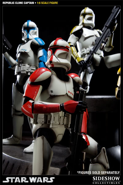 Sideshow - Republic Clone Captain - 12 inch Figure  10001616