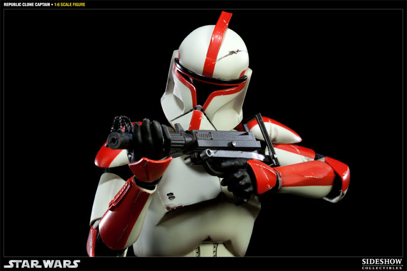 Sideshow - Republic Clone Captain - 12 inch Figure  10001617