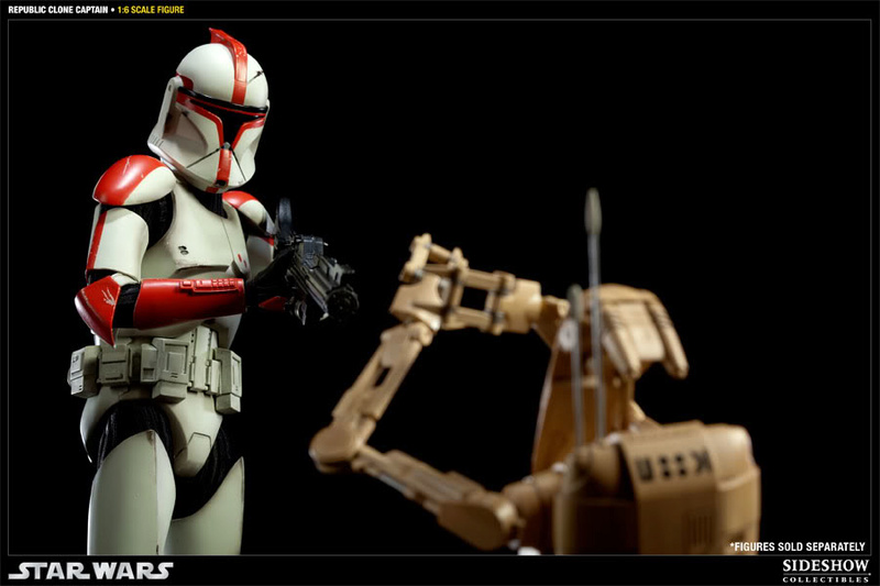 Sideshow - Republic Clone Captain - 12 inch Figure  10001618