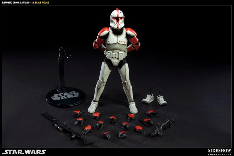 Sideshow - Republic Clone Captain - 12 inch Figure  10001619