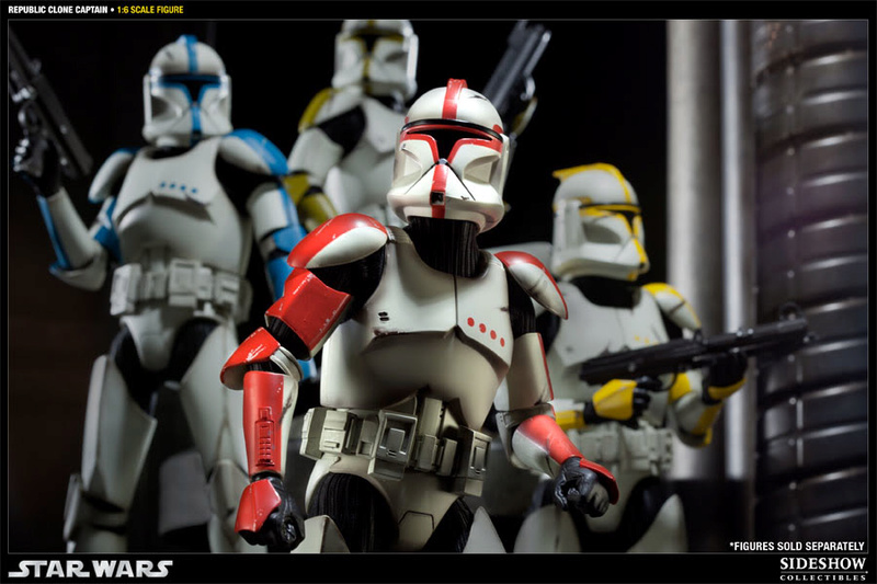 Sideshow - Republic Clone Captain - 12 inch Figure  10001620