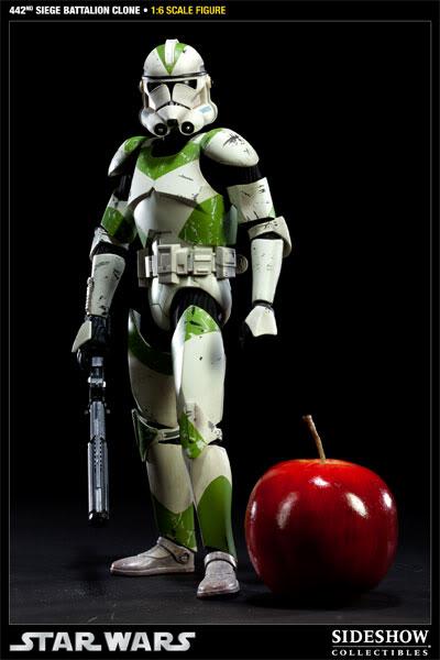 Sideshow - 442nd Siege Batallion Clone - 12 inch Figure  10002311