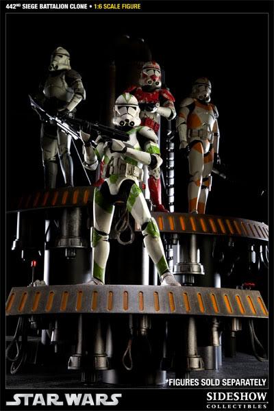 Sideshow - 442nd Siege Batallion Clone - 12 inch Figure  10002316