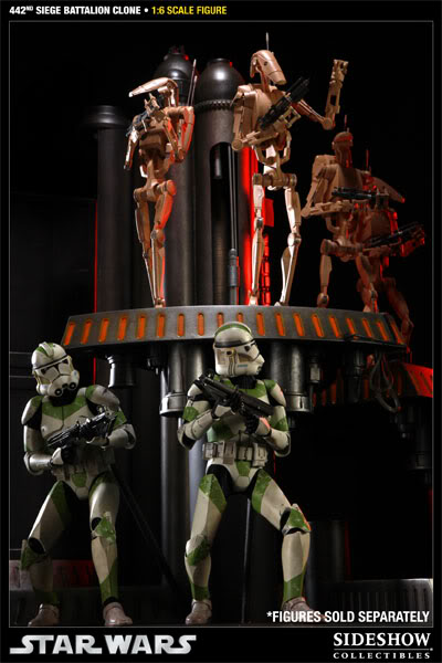 Sideshow - 442nd Siege Batallion Clone - 12 inch Figure  10002317
