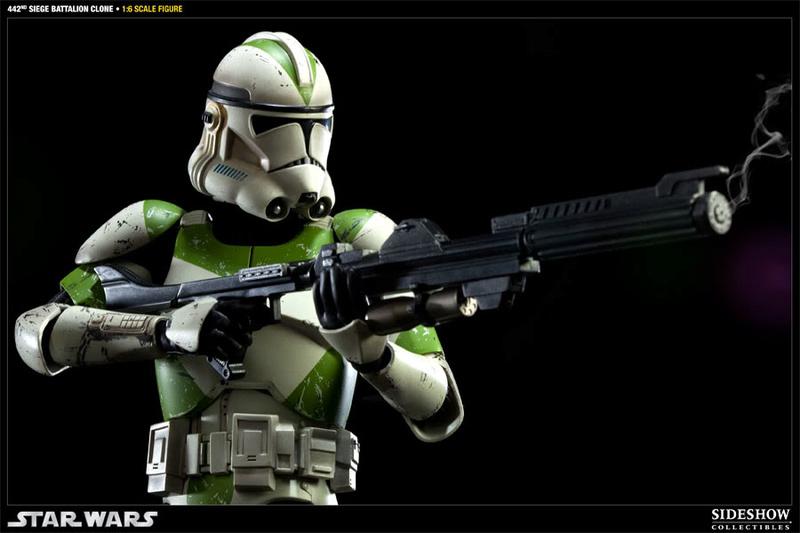 Sideshow - 442nd Siege Batallion Clone - 12 inch Figure  10002318